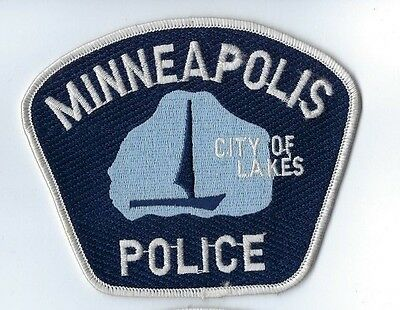 """Minneapolis (Hennepin Co.) MN Minnesota Police Dept. """"City of Lakes"""" patch - NEW"""