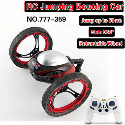 2.4G 4CH 1:30 Bounce Car RC Car 360° Spin Jumping Sumo Robot Remote Control Cars