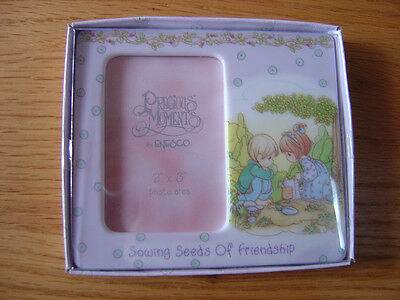 "Precious Moments ""Sowing Seeds of Friendship"" Picture Frame - NEW"