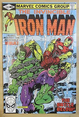 Iron Man #132 (Mar 1980, Marvel) NM- 9.2...Hulk x-over...Free Shipping!!!