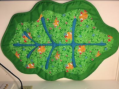 Evenflo Exersaucer Triple Fun Jungle Playmat Toy Stand Replacement Part