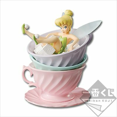 Disney Peter pan Tinkerbell Tea cup Figure Ichiban kuji B BANPRESTO F/S Japan