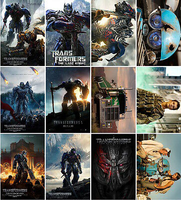 28 postcards of Transformers The Last Knight moive robot cars alien superhero