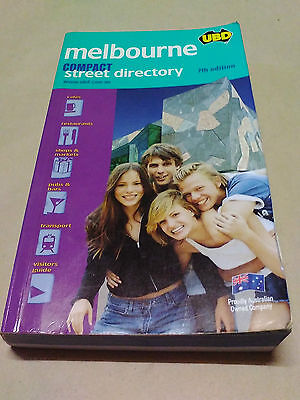 UBD Compact Melbourne Street Directory by Universal Publishers (Paperback, 2006)
