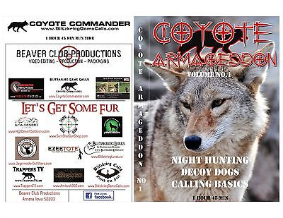 Coyote Armageddon- Coyote Hunting-Calling-Decoy Dogs-Day & Night Hunts