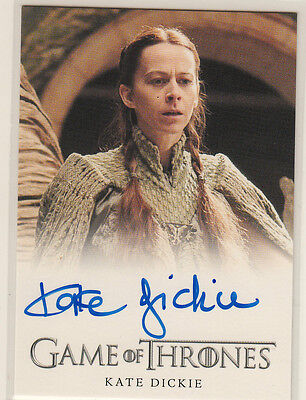 Rittenhouse 2015 Game Of Thrones Season 4 Auto Card Kate Dickie As Lysa Arryn
