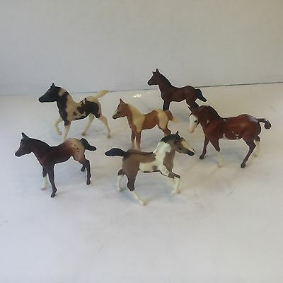 Breyer Horses All Foals Excellent Collection Lot Of 6
