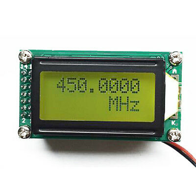 1MHz ~1200MHz RF Singal Frequency Counter Tester Meter Digital LED Ham Radio New