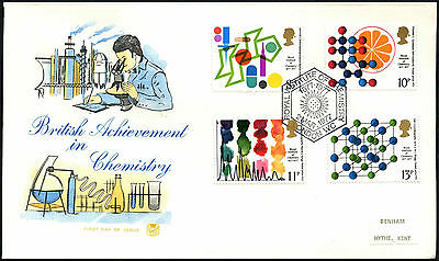 GB FDC 1977 Chemistry, Royal Institute, London SW H/S #C41700