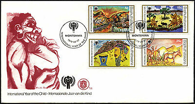 Bophuthatswana 1979 Year Of The Child FDC First Day Cover #C41521