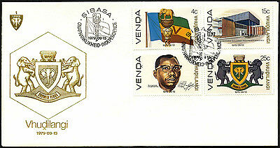 Venda 1979 Independence FDC First Day Cover #C41537