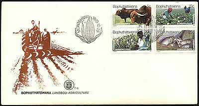 Bophuthatswana 1979 Agriculture FDC First Day Cover #C41523