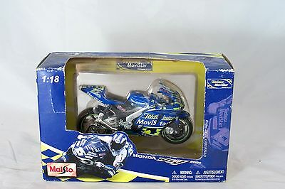 MAISTO 2004 HONDA RCV 211 1:18 Scale Model Motorcycle/Bike