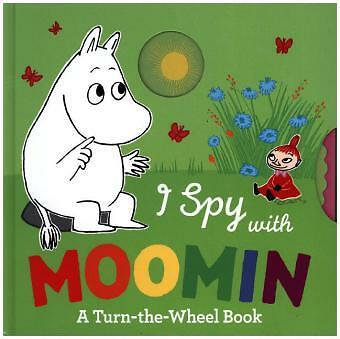 I Spy With Moomin - A Turn-the-Wheel Book-NEW-9780141359908 by Jansson, Tove