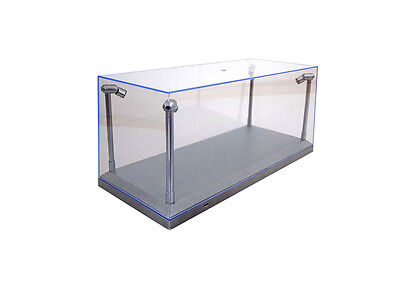 1-18 Acrylic Case with LED Lights Display Case T9-189922