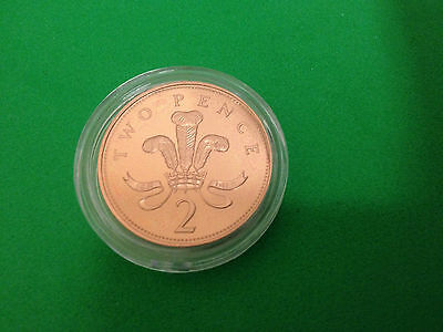 Royal Mint Prince of Wales/Shield Proof Two Pence 2p Coin CHOOSE YOUR YEAR 71-17