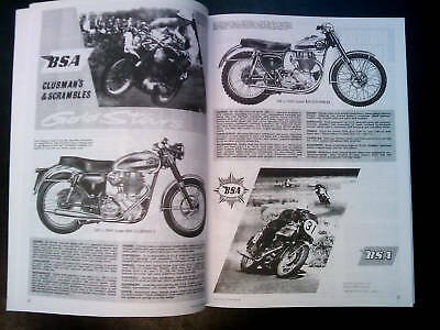 BSA Gold Star book DBD 350 & 500