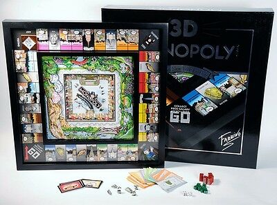 Charles Fazzino 3D Monopoly Game Limited Edition Collectors (UNOPENED)  xx/2000