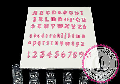 Full Set Of Gothic Clikstix Alphabet & Number Cutters *special Offer*