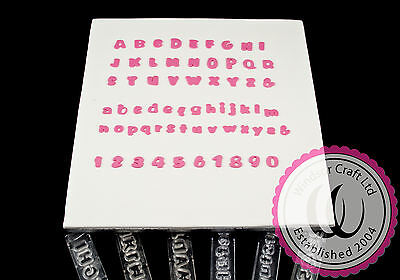 Full Set Of Small Clikstix Alphabet & Number Cutters Cake Decorating