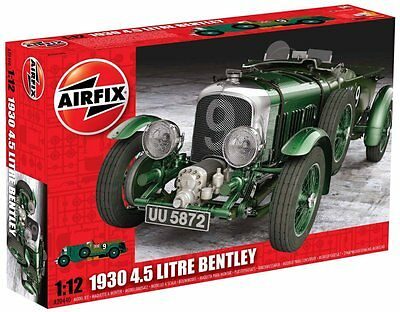 Airfix A20440 1:12 Scale 1930 4.5 Litre Bentley Series 20 Model Kit *new*