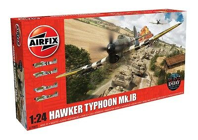 Airfix A19002 1:24 Scale Hawker Typhoon Mkib Model Kit *new*