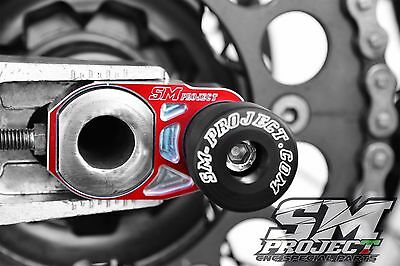 Registri tendicatena HONDA CRF-CR 125 250 450 supermotard con tampone integrato