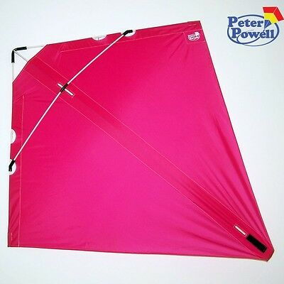 PETER POWELL Dual Line Stunt Kite MKIII PINK - Adults Kids Outdoor Sport Toy