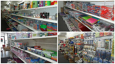Wholesale pallet with 2,000 assorted dollar discount store items
