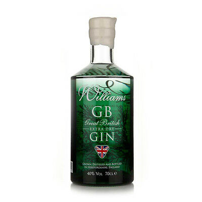 William Chase Grat British Extra Dry Gin - 70cl - William Chase