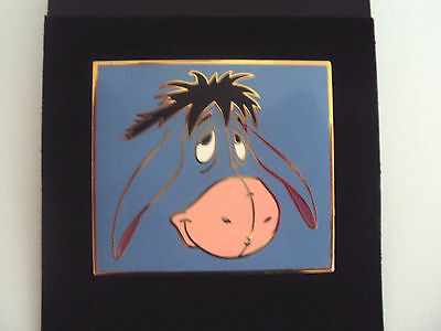 Eeyore Face LE  Disney Auctions Pooh and Friend