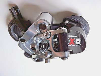 Sram X0 9 Speed Rear Derailleur with carbon medium outer cage