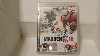 Ps3 Ea Sports Playstation Nip Factory Sealed New Madden Nfl 10 2011 Fitz Troy