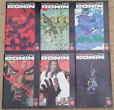 Frank Miller's Ronin 1-6 (Of 6), Limited Series, Dc Comics, 1983, Vf-