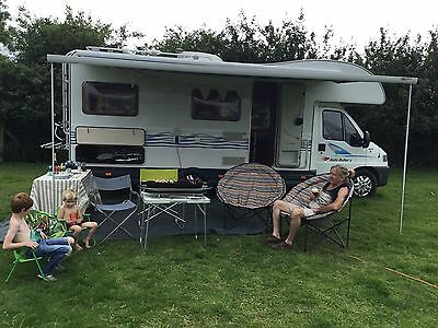 6 Berth Motorhome Available For Hire, We Still Have Summer Holiday Availability