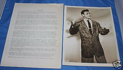 1958 Original Jerry Reed Press Kit w/ 8x10 Glossy From Publish Co Archives