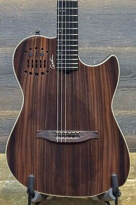 "Godin Multiac Nylon SA Rosewood HG ""SF"" SA Classical Guitar w/ Bag - #16306134"