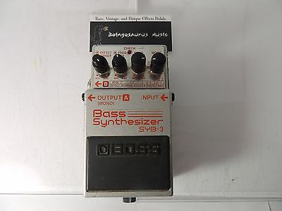 BOSS SYB-3 Bass Synthesizer Effects Pedal/Processor FREE SHIPPING!!!
