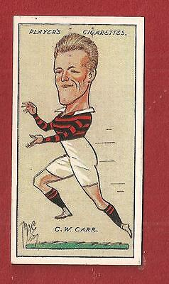 Barrow Raiders RLFC CHARLIE CARR Great Britain  International 1927 original card