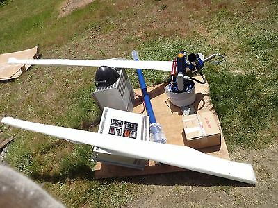 World Power 15 ft Diamet. Whisper 3000 Wind Generator + EZ200/4600 System center