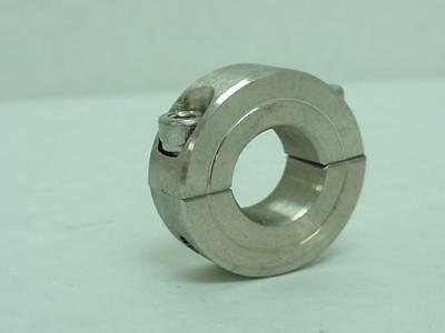 "169433 Old-Stock, MFG- H2C-062-S Two Piece Shaft Collar, SS, 5/8"" ID, 1-1/4"" OD"
