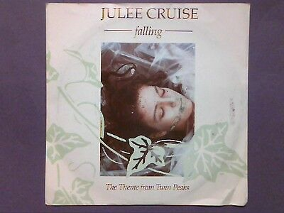 "Julee Cruise - Falling/The Theme From Twin Peaks (7"" single) p/sleeve W 9544"