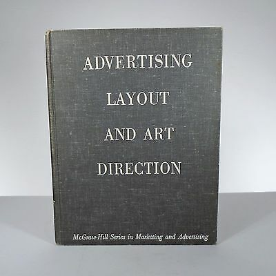 VINTAGE TEXTBOOK Advertising Layout And Art Direction MCGRAW HILL 1959