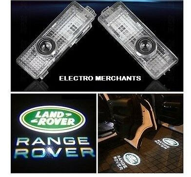 2 X Led 3D Ghost Puddle Courtesy Light  Land Rover Range Rover Sport Discovery