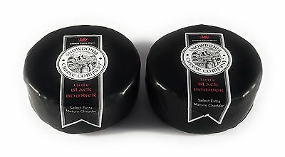 2 X 200G Snowdonia Big Black Bomber Extra Mature Cheddar Cheese
