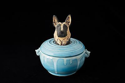 Urn or Treat Jar for German Shepherd
