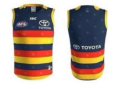 Adelaide Crows AFL 2017 ISC Home Guernsey Adults & Kids Sizes! In Stock!