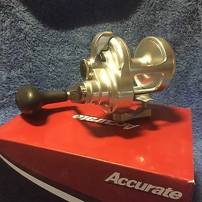 Accurate Boss Extreme BX-500X Lever drag reel BRAND NEW