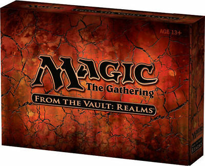 Magic the Gathering MTG From the Vault Realms - Factory Sealed -Brand New in Box