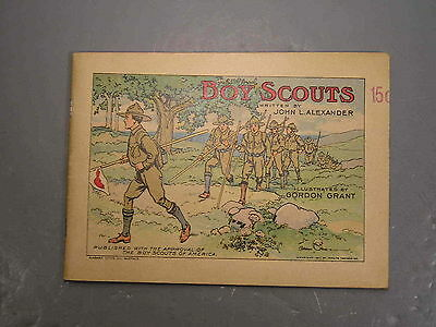 Boy Scout John L Alexander Tapioca Booklet 1911 BSA Antique Scarce Scout 50 pgs